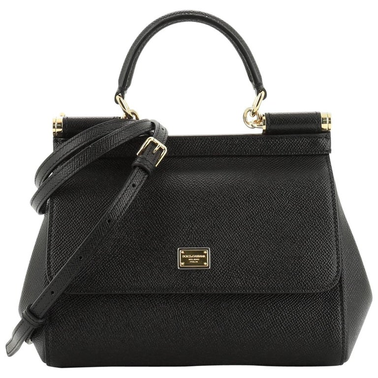 Dolce & Gabbana Miss Sicily Bag Leather Small