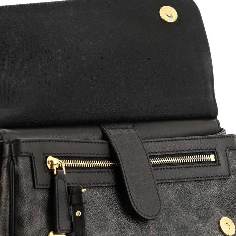 Dolce & Gabbana Miss Sicily Bag Leopard Print Leather Medium For Sale 2