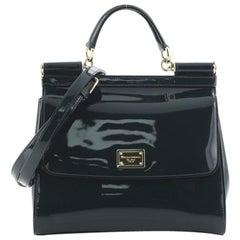 Dolce & Gabbana Miss Sicily Bag Patent Medium