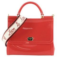 Dolce & Gabbana Miss Sicily Bag PVC Medium
