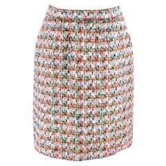 Dolce & Gabbana Multi-coloured Tweed Mini Skirt - Size US 4