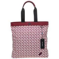 Dolce & Gabbana Multicolor DG Mania Print Nylon Shopping Bag