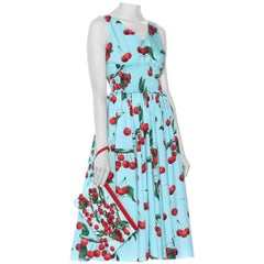 Dolce & Gabbana My Theresa Exclusive Sleevless Mikado Midi Dress -US10/IT46