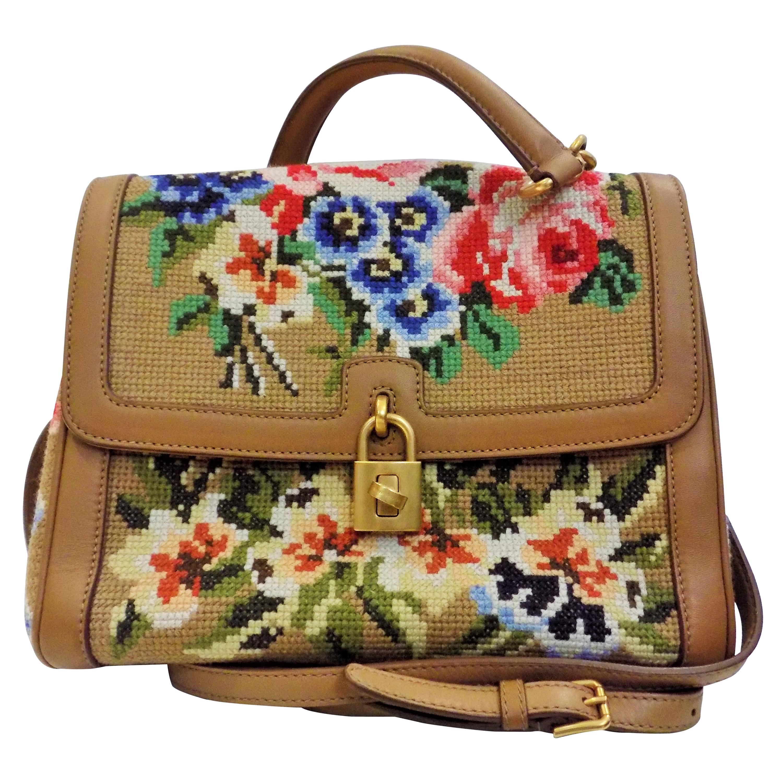 Dolce & Gabbana Needlepoint Bag