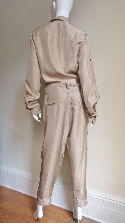 Dolce & Gabbana New Silk Capri Jumpsuit For Sale 10