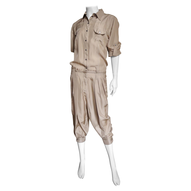 Dolce & Gabbana New Silk Capri Jumpsuit