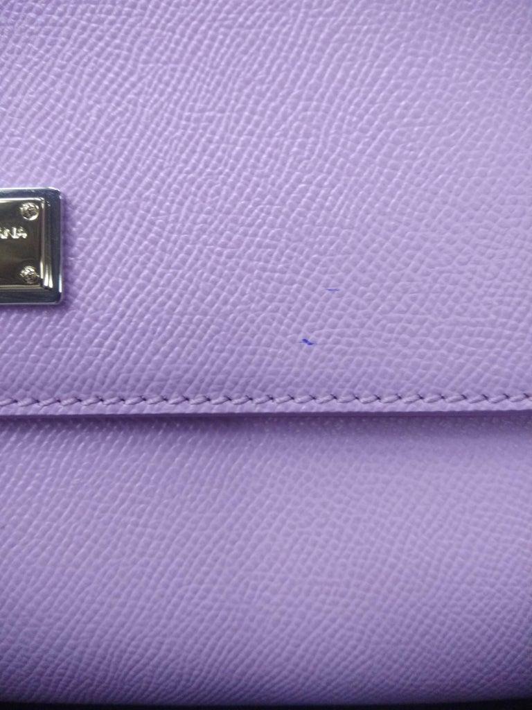 Women's Dolce & Gabbana Pink Leather Medium Miss Sicily Bag