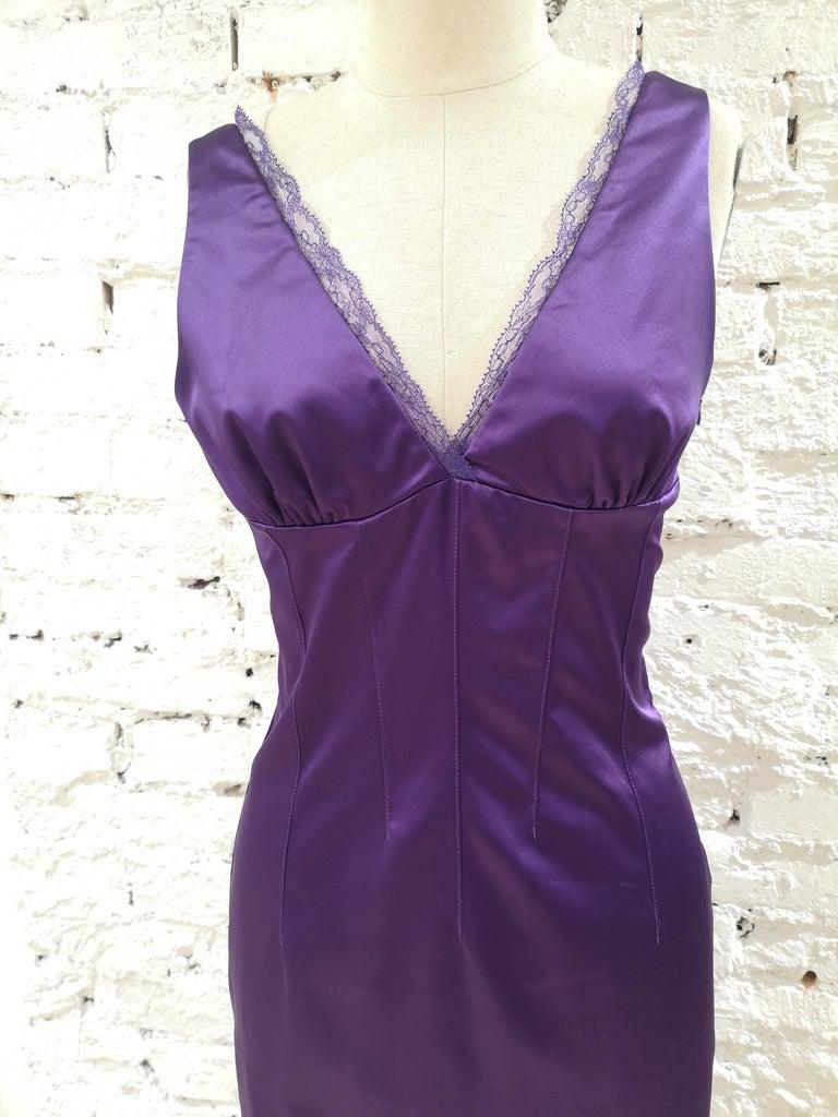 Purple Dolce & Gabbana purple dress