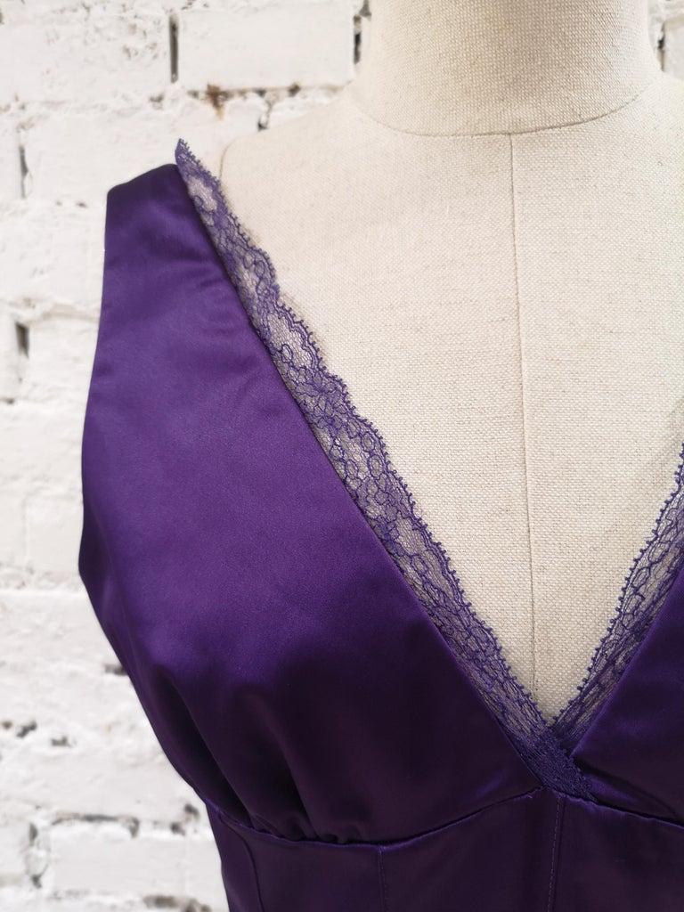 Women's Dolce & Gabbana purple dress