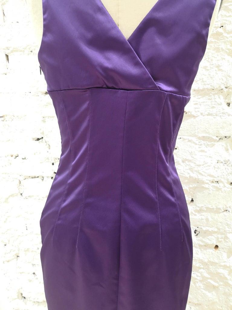 Dolce & Gabbana purple dress 2