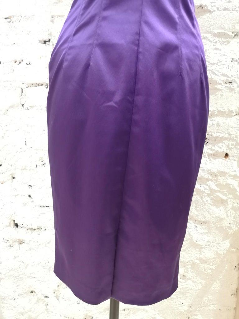 Dolce & Gabbana purple dress 3