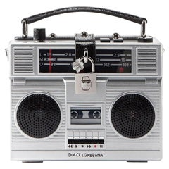 Dolce & Gabbana Radio Bag Plays Music Connect To I-Phone Boom Box Retail  $8,895