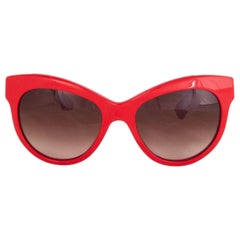 DOLCE & GABBANA red MOSAICO Sunglasses gradient Lenses DG 4215