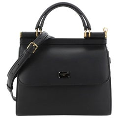 Dolce & Gabbana Sicily 58 Bag Leather Small