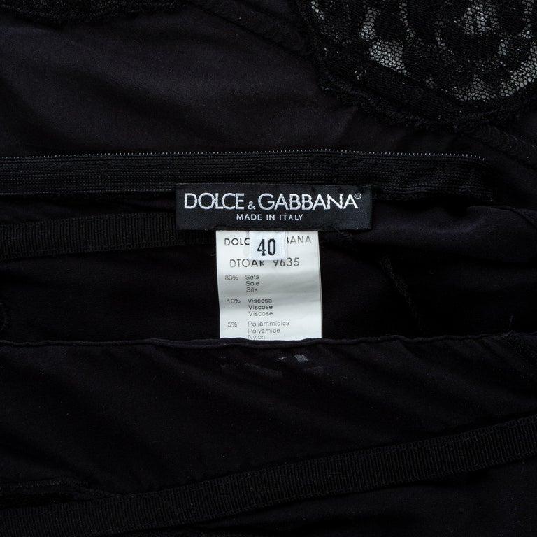 Dolce & Gabbana silk and lace corset, ss 2002 3