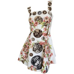 Dolce & Gabbana Special Edition Antiquities Mini Dress Spring 2014
