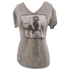Dolce & Gabbana Steve McQueen grey t-shirt