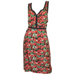 Dolce & Gabbana Strawberry Print Skirt and Top Set