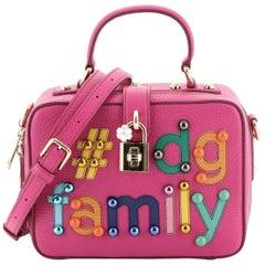 Dolce & Gabbana Treasure Box Bag Embellished Leather Small