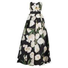 Dolce & Gabbana Tulip Print Gown