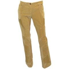 Dolce & Gabbana Velvet Corduroy Pants