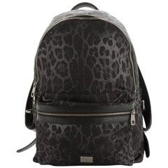 Dolce & Gabbana Vulcano Backpack Printed Nylon