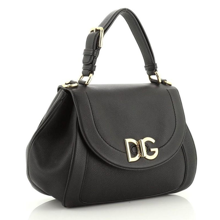 Dolce & Gabbana Wifi Top Handle Bag Leather In Good Condition For Sale In New York, NY