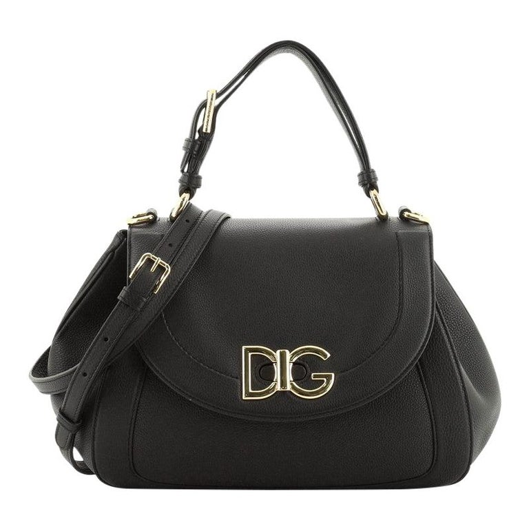 Dolce & Gabbana Wifi Top Handle Bag Leather For Sale
