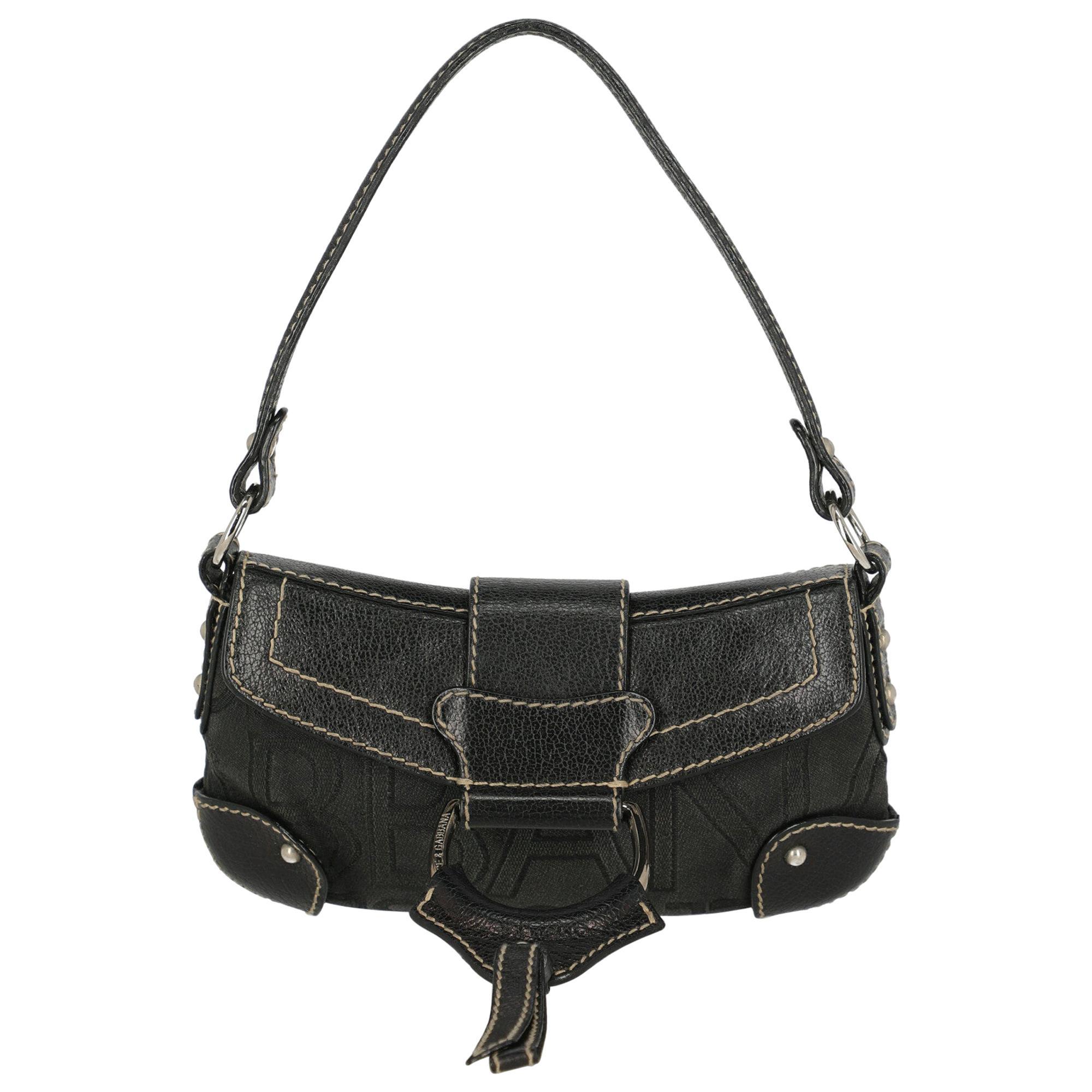 Dolce & Gabbana Woman Handbag Black Leather
