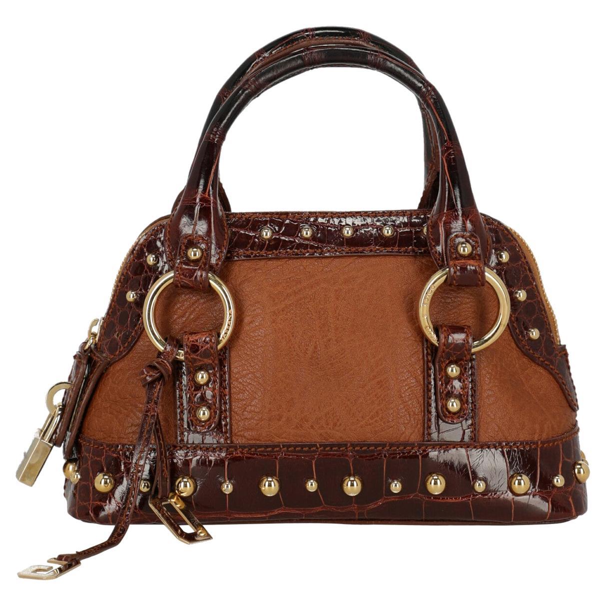 Dolce & Gabbana Woman Handbag Brown Leather