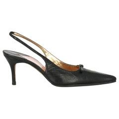 Dolce & Gabbana Woman Pumps Black Leather IT 38.5