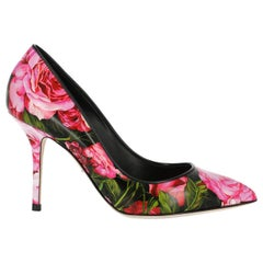 Dolce & Gabbana Woman Pumps Black, Pink IT 36