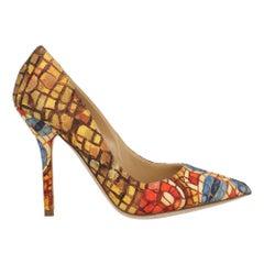 Dolce & Gabbana Woman Pumps Blue Fabric IT 35
