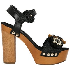 Dolce & Gabbana Woman Sandals Black, Brown IT 39