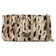 Dolce & Gabbana Woman Shoulder bag Beige Leather