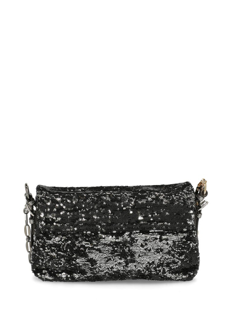 Women's Dolce & Gabbana Woman Shoulder bag Black, Silver  For Sale