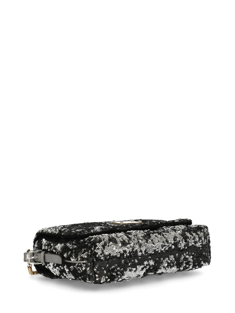 Dolce & Gabbana Woman Shoulder bag Black, Silver  For Sale 1