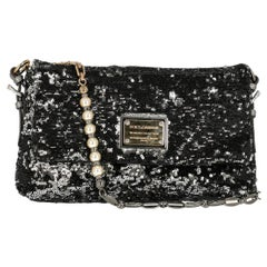 Dolce & Gabbana Woman Shoulder bag Black, Silver