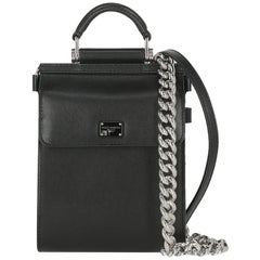 Dolce & Gabbana Woman Shoulder bag Sicily Black Leather