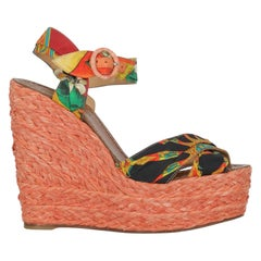 Dolce & Gabbana Woman Wedges Multicolor Eco-Friendly Fabric, Fabric IT 38