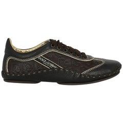 Dolce & Gabbana  Women    Brown Leather EU 37