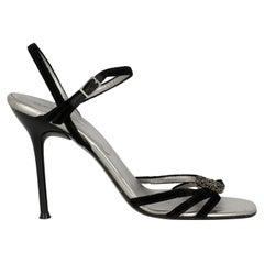 Dolce & Gabbana  Women   Sandals  Black Fabric EU 39