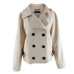 Dolce & Gabbana Women's Beige Double Breasted Jacket - Us size 10