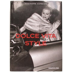 Dolce Vita Style Vintage Coffee Table Book
