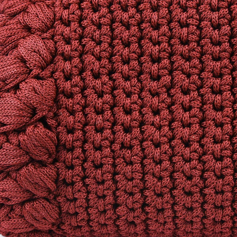 Dolce&Gabbana Bag Jewel Toned Lush Crochet Snakeskin Handle For Sale 2