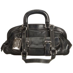 Dolce&Gabbana Black Leather Satchel