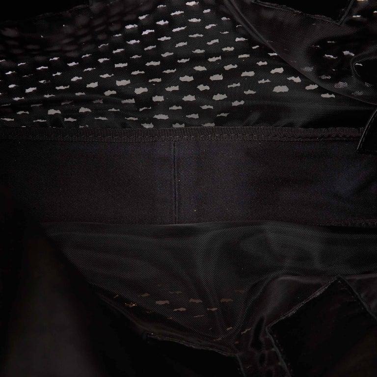 Dolce&Gabbana Black Miss Helen Crochet Tote For Sale 1