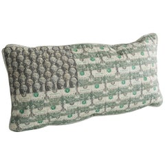 Dollar Bill Flag Pillow in Dollar Bills by Johnny Swing, 2017