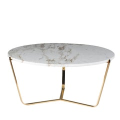 Dolomiti Calacatta Marble Tall Coffee Table