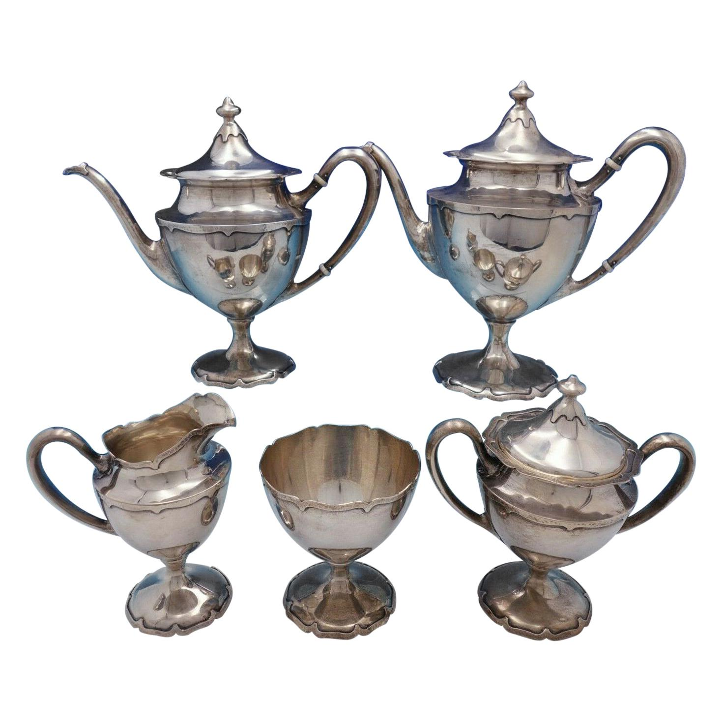 Dolores by Shreve Sterling Silver Tea Set 5-Piece